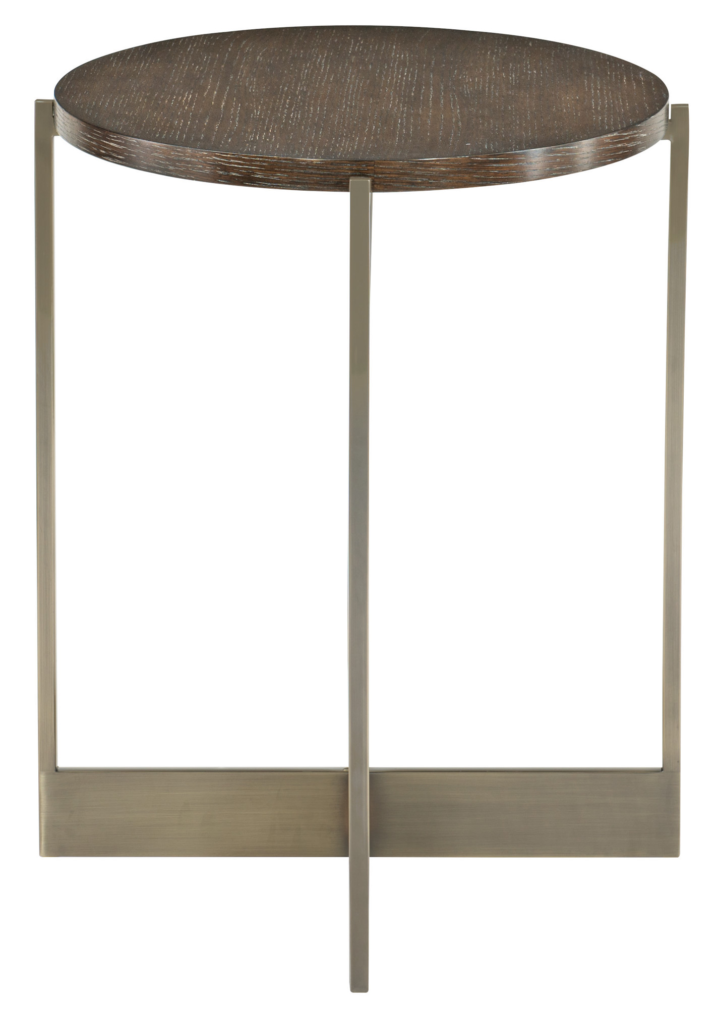 Oval End Table Bernhardt Hospitality