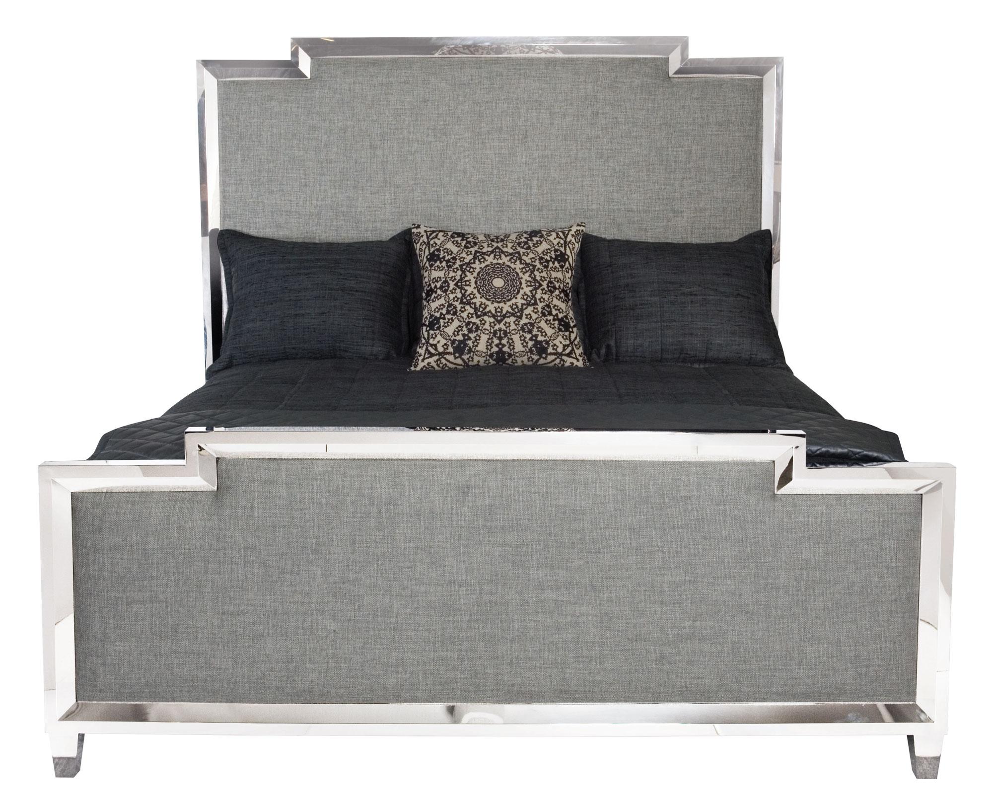 Metal Upholstered Panel Bed Bernhardt Hospitality