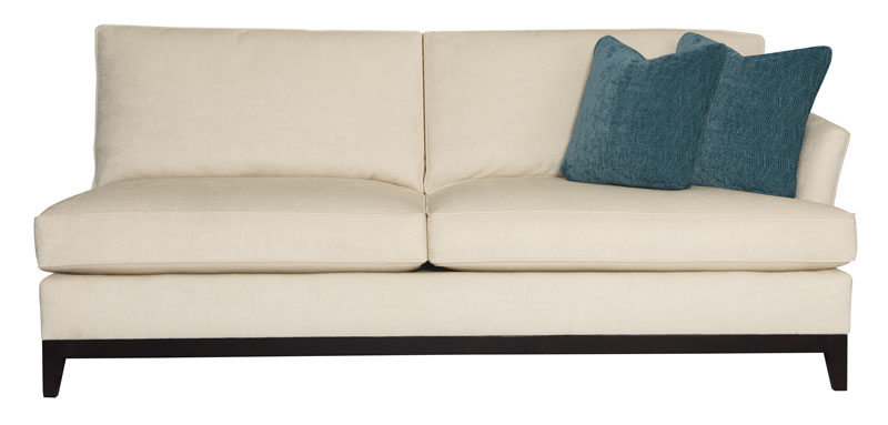 Right arm sofa bernhardt hospitality for Bernhardt chaise lounge
